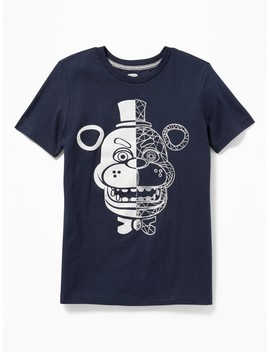 "Five Nights At Freddy's™ ""Game Over"" Tee For Boys by Old Navy"