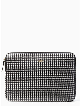 Houndstooth Universal Laptop Sleeve by Kate Spade