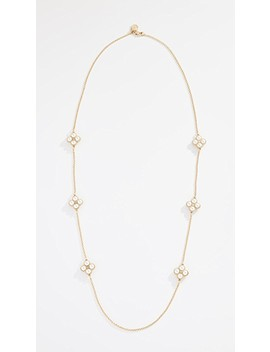 Rope Clover Rosary Necklace by Tory Burch