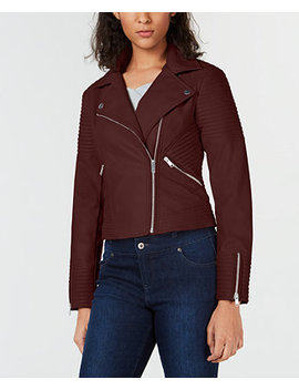 Quilted Moto Jacket, Created For Macy's by Bar Iii