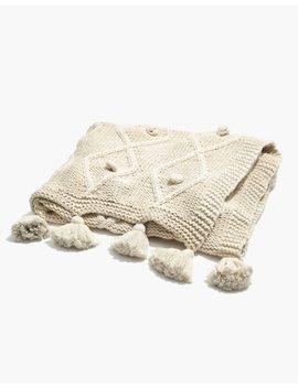 Tassel Blanket by Madewell