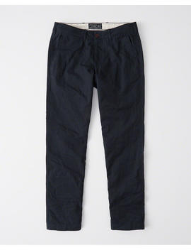 Flannel Lined Chino by Abercrombie & Fitch
