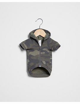 Vintage Fleece Camo Dog Hoodie by Express