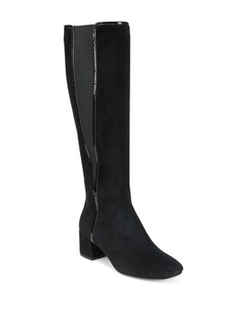 Camille Suede Boot by Donald Pliner