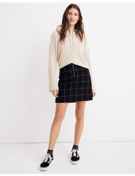 Plaid Fireside Mini Skirt by Madewell