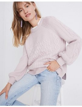 Copenhagen Cable Sweater by Madewell