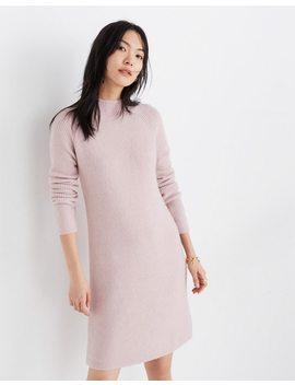 Northfield Mockneck Sweater Dress In Coziest Yarn by Madewell