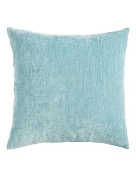 Chenille Sky Blue Pillow by Pier1 Imports