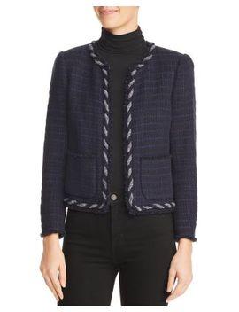 Crochet Tweed Jacket by Rebecca Taylor