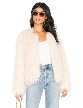 Studio Fifty Faux Fur Cropped Jacket by Sanctuary