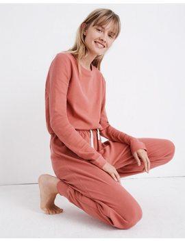 Honeycomb Pajama Sweatpants by Madewell