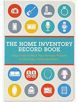 Home Inventory Record Book (Keep Track Of Your Personal Property) by Amazon