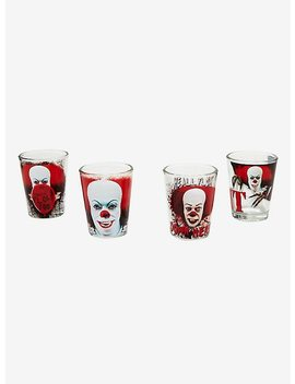 It Pennywise Shot Glass Set by Hot Topic