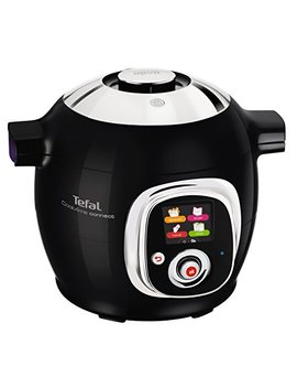 Tefal Cook4 Me Connect Multi Cooker With Interactive Control Panel, Connected Capability And 50 Integrated Recipes, 6 L by Tefal