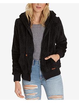 Juniors' Hooded Fleece Jacket by Billabong