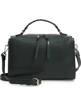 Whipstitch Handle Faux Leather Crossbody Bag by Bp.