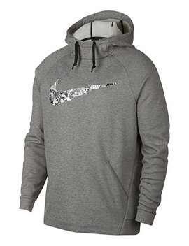 Men's Therma Collage Logo Hoodie by Nike