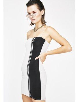 Ain't Playin' Mini Dress by Blanc