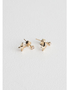 Front Back Star Charm Earrings by & Other Stories