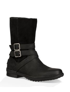 Ugg® Lorna Waterproof Leather And Suede Boots by Ugg