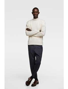 Sweater I Kashmir Med HØj Hals  View All Sweatere Herre by Zara