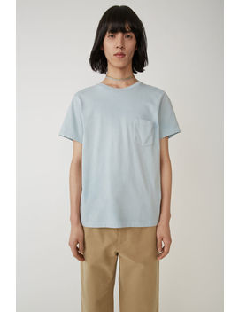 Crewneck T Shirt Sky Blue by Acne Studios