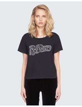 Re/Done Doll Graphic Tee by Re/Done