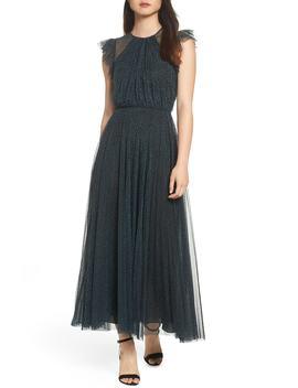 Flocked Dot Tulle Dress by Jill Jill Stuart