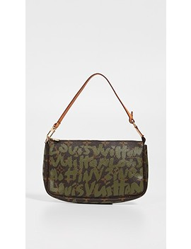 Louis Vuitton Sprouse Pouchette by What Goes Around Comes Around