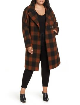 Oversize Boiled Wool Coat by Rachel Rachel Roy