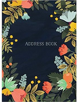 Address Book   Modern Floral Large by Amazon