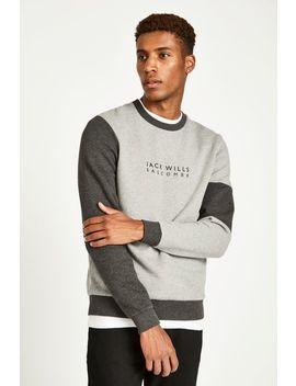 Etitude Colour Block Sweat Shirt by Jack Wills