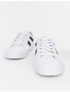 Pull&Bear Sneakers With Side Stripe In White by Pull&Bear