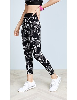 Knockout Cropped Leggings by Koral Activewear