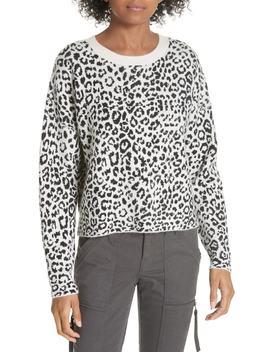 Leopard Print Sweater by Joie