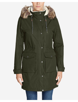 Women's Charly Sherpa Lined Parka by Eddie Bauer