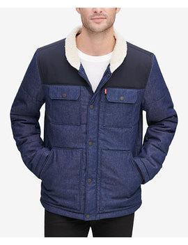 Men's Mixed Media Woodsman Jacket by Levi's