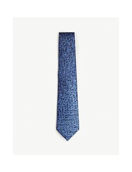 Dégradé Dash Silk Tie by Lanvin