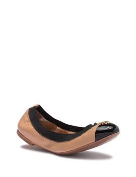 Jolie Two Tone Ballet Flat by Tory Burch