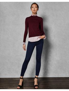 Pullover Mit Falten Am Kragen by Ted Baker