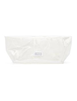 Transparent Velcro Clutch by Maison Margiela