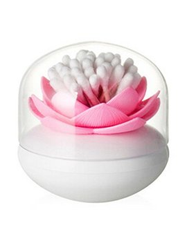 Estd 1 Pc Lotus Toothpick Cotton Bud Swab Holder Storage Box Home Decor by Estd