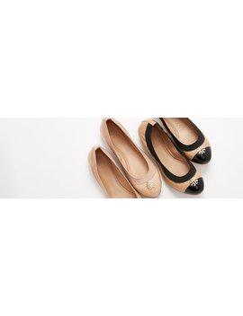 Jolie Two Tone Ballet Flat by Jolie Two Tone Ballet Flat