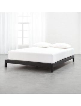 Simple Metal Bed Base Queen by Crate&Barrel