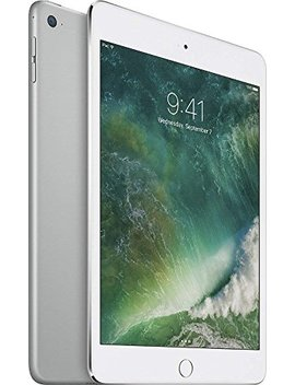 Apple I Pad Mini 4 (128 Gb, Wi Fi, Silver) by Apple