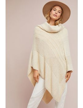Wrightson Turtleneck Poncho by Anthropologie