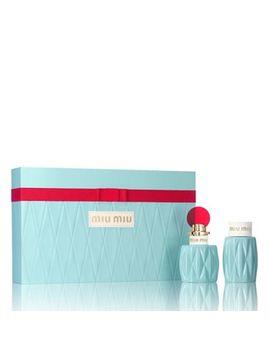 Miu Miu   'miu Miu' Eau De Parfum 50ml Gift Set by Miu Miu