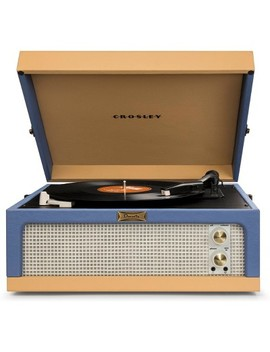 Crosley Dansette Junior Portable Record Player   Blue / Tan by Crosley