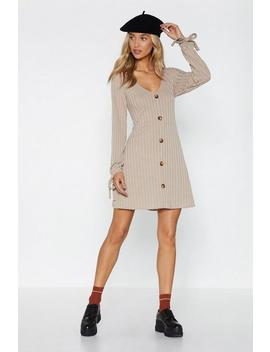 The Go To Button Dress by Nasty Gal