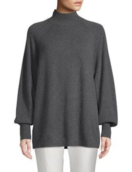 Relaxed Turtleneck Sweater by Cashmere Saks Fifth Avenue